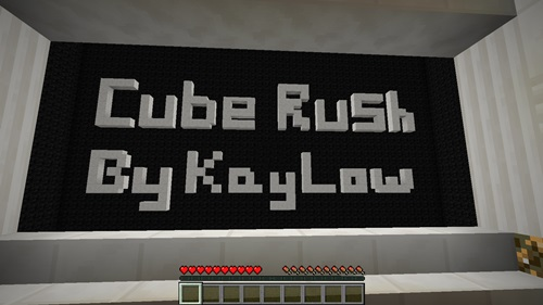 Photo of Minecraft – Cube Rush Parkour Map