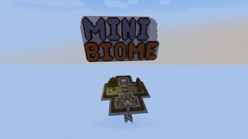 Photo of Minecraft – Mini Biome Parkour Map