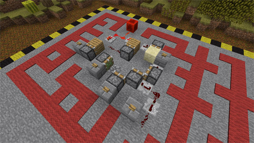 Photo of Minecraft – 500 Ticks of Fury Puzzle Map