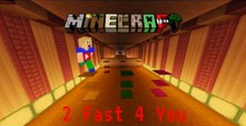 Photo of Minecraft – 2 Fast 4 You Parkour Map
