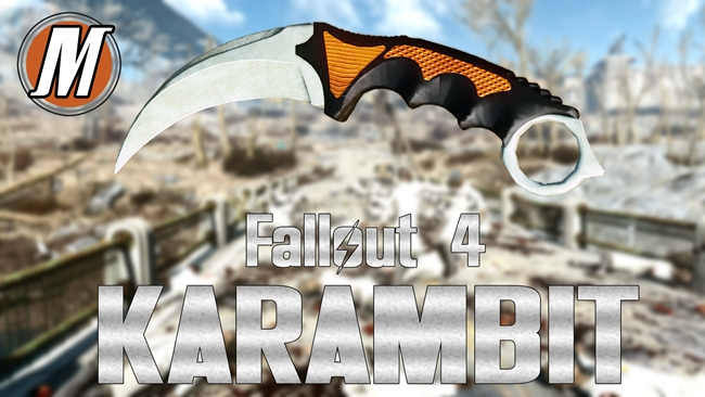 Photo of Fallout 4 – CSGO Inspired Curved Knife Karambit