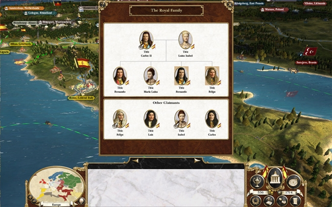 Photo of Empire Total War – Royal Family Mod