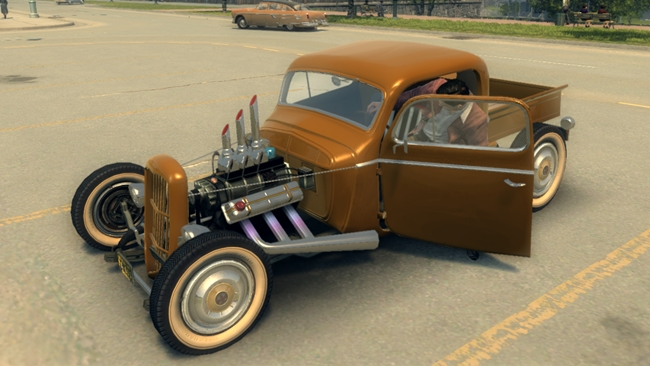 "Photo of Mafia 2 – Shubert ""Grandpa's Crutch"" Rat Rod"