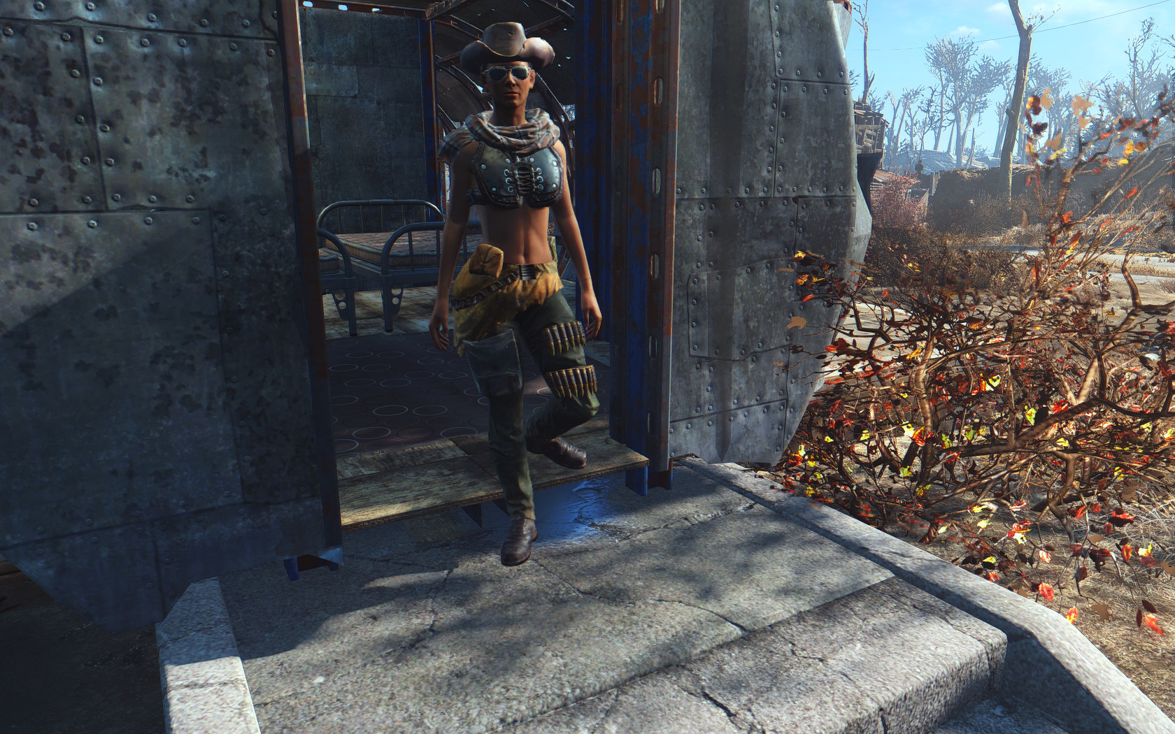 Photo of Fallout 4 – Wasteland Maiden Armour