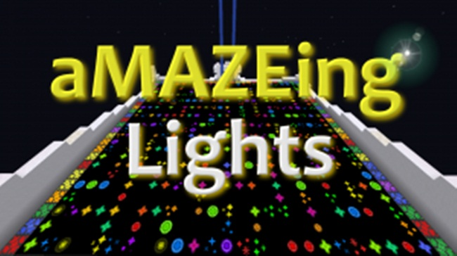 Photo of Minecraft – Amazing Lights Maze Map