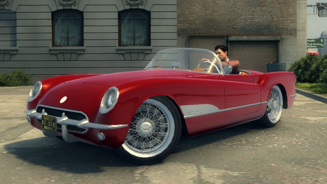 mafia 2 1953 chevrolet corvette car mod newmods game mods download. Black Bedroom Furniture Sets. Home Design Ideas