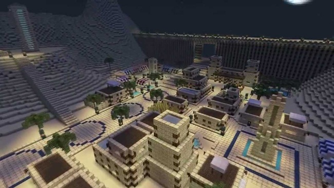 Photo of Minecraft – Desert City Map