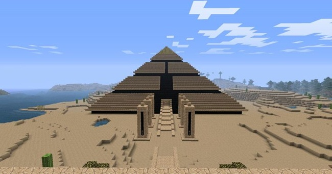 Photo of Minecraft – Desert Pyramid Maze Map