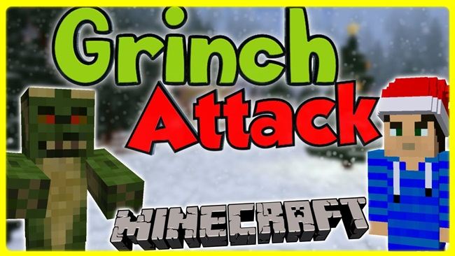 Photo of Minecraft – Grinch Attack PVE Map