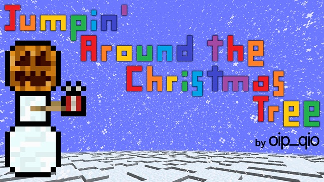 Photo of Minecraft – Jumpin Around the Christmas Tree CTM Map