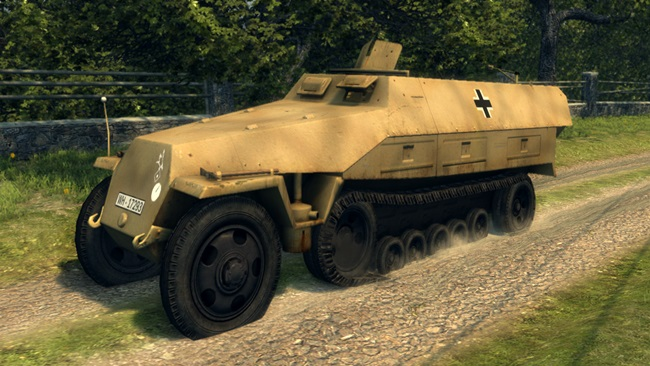 Photo of Mafia 2 – Nazi armored personnel carriers Sd.Kfz. 251