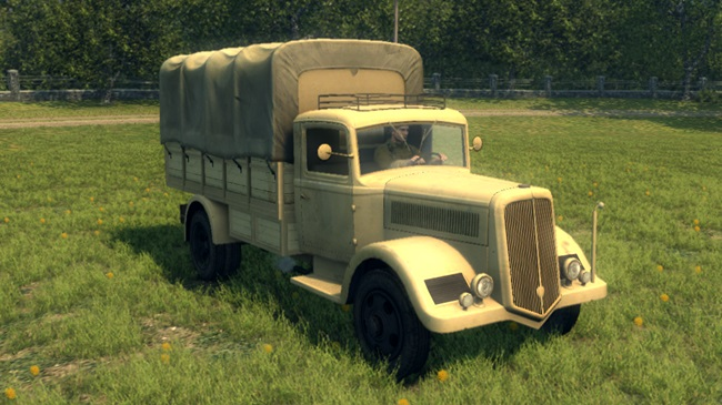 Photo of Mafia 2 – Sicilian Military Truck