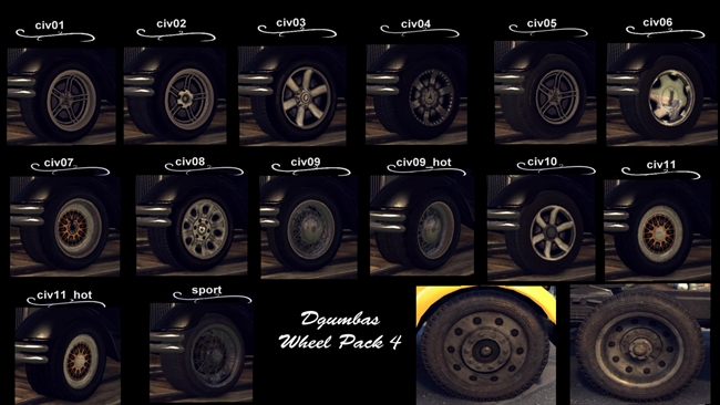 Photo of Mafia 2 – Fancy Wheel Tuning Pack