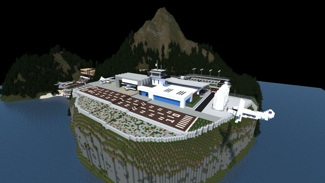 Photo of Minecraft – Project – ParadiseFalls City Map