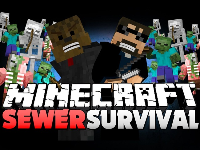 Photo of Minecraft – Sewer Survival PVE Map