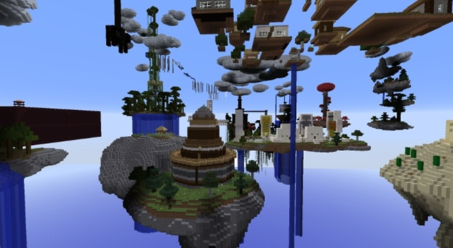 Photo of Minecraft – Sky Megalith CTM Map