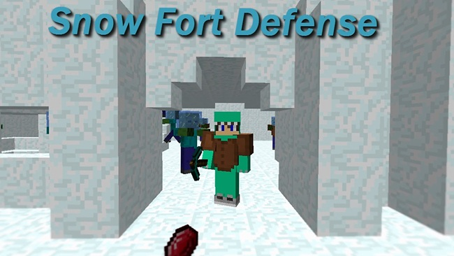 Photo of Minecraft – Snow Fort Defense PVE Map