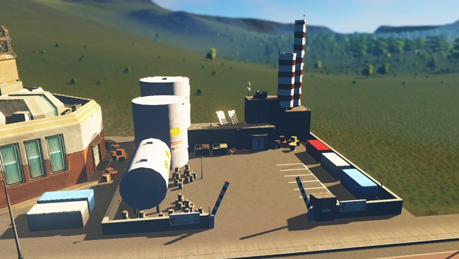 Photo of Cities:Skylines – Toxic Waste Treatment Plant