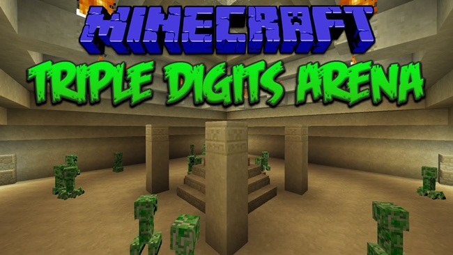 Photo of Minecraft – Triple Digits Arena PVE Map