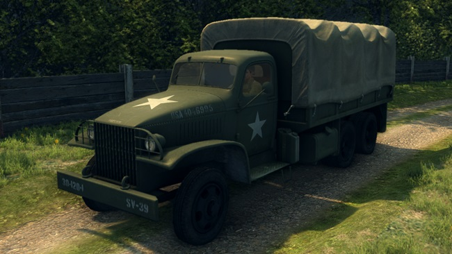 Photo of Mafia 2 – U.S. Army Truck