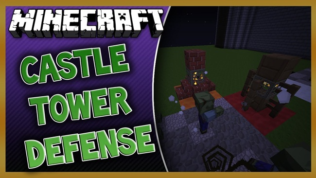 Minecraft - Zombie Castle Defenders PVE Map - New PC Game ...