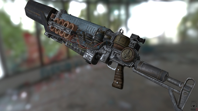 Photo of Fallout 4 – Gauss Rifle Retexture