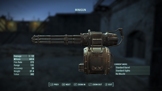 minigun-damage-increase-fallout4mods