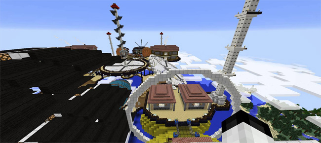 Photo of Minecraft – Arpeggios Air Fleet Creation Map