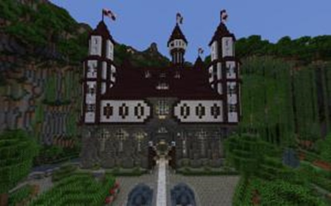 Photo of Minecraft – Castle Verilian of Aeritus Creation Map