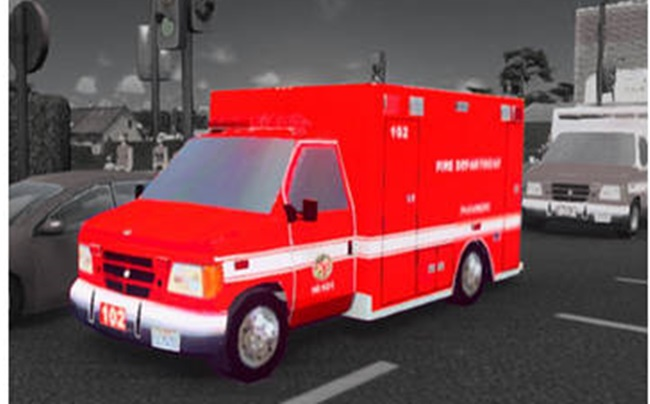 Photo of Cities:Skylines – Ford E350 Ambulance