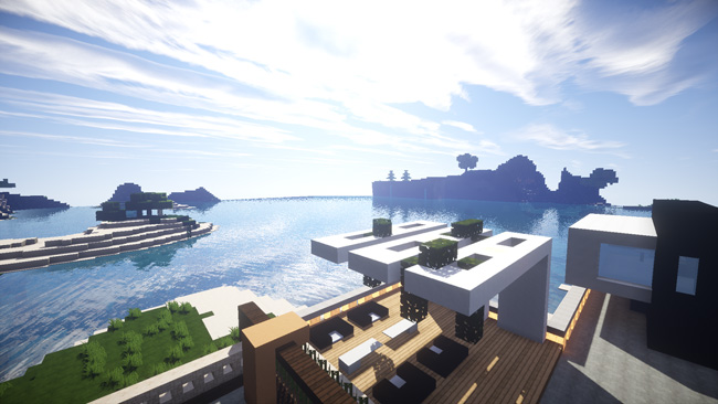 Photo of Minecraft – Modern Beach House Creation Map