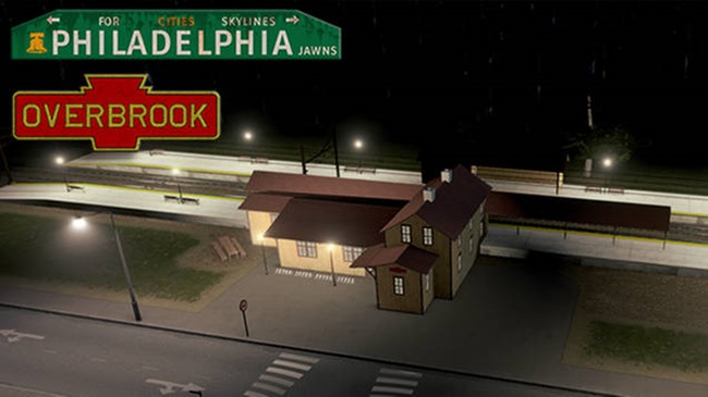 Photo of Cities:Skylines – Philadelphia Overbrook Station