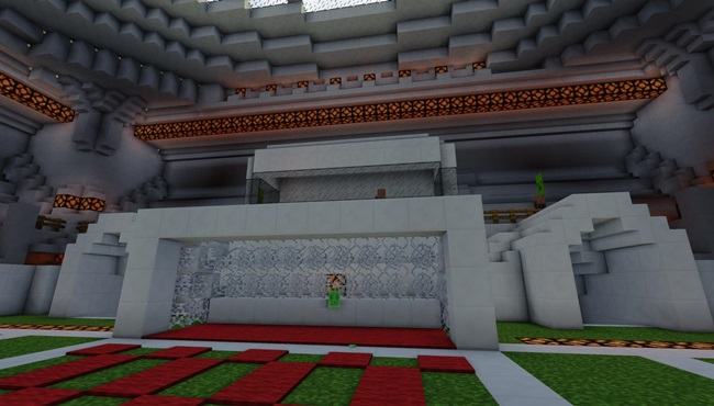 Photo of Minecraft – Soccer Game Map