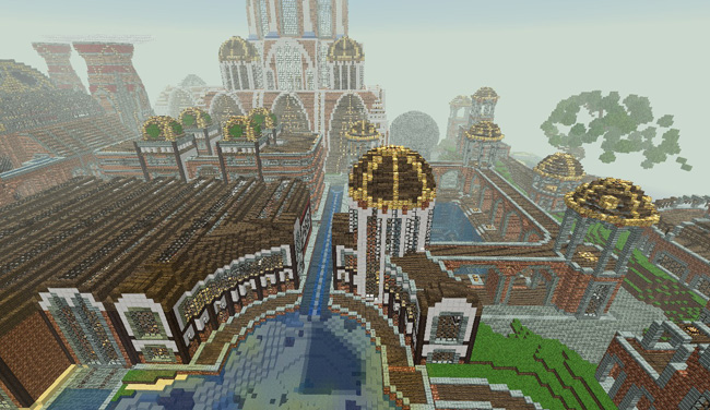 Photo of Minecraft – Steampunk Port Creation Map