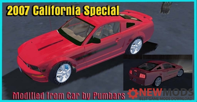Photo of Mafia – 2007 Ford Mustang California Special