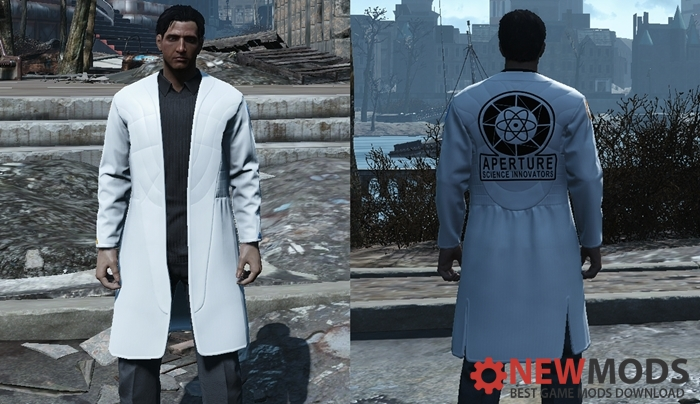 Photo of Fallout 4 – Aperture Coat (Father's Coat Replacement)