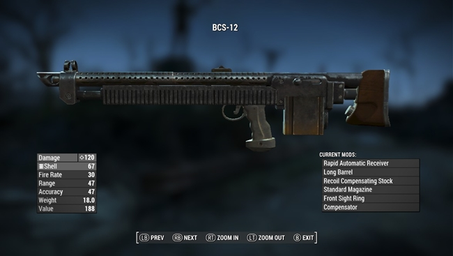 Photo of Fallout 4 – Bullpup Combat Shotgun
