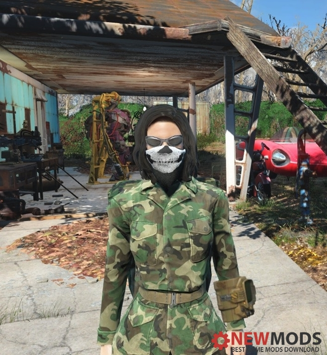 Photo of Fallout 4 – Call of Duty Ghosts mask