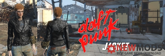 Photo of Fallout 4 – Daft Punk Leather Jacket