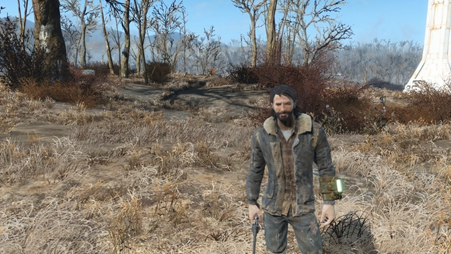 Photo of Fallout 4 – Dark Brown Patchless Winter Jacket Retexture