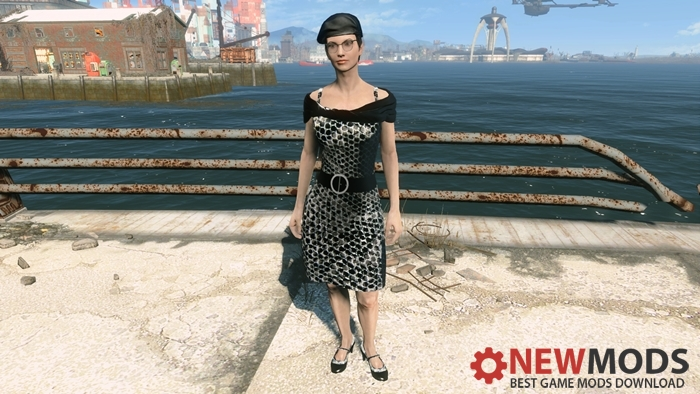 dark-snake-skin-sequin-dress-fallout4