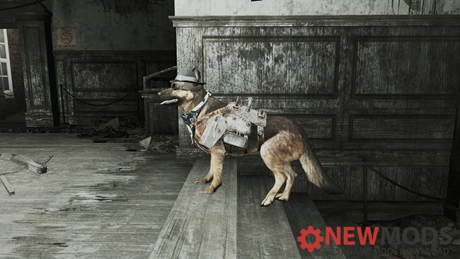 Photo of Fallout 4 – Handy Hats and Transparent Armors Dog