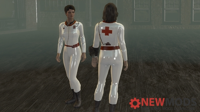 Photo of Fallout 4 – Latex Nurse Suit