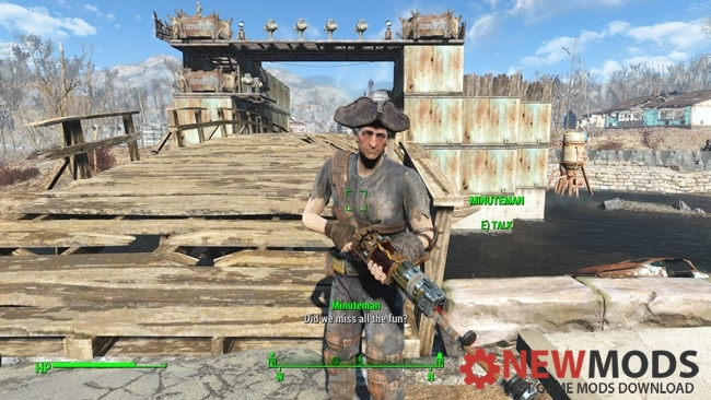 Photo of Fallout 4 – Minutemen Militia Hat Tricorn Replacer