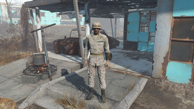 Photo of Fallout 4 – Modern Camouflage Fatigues