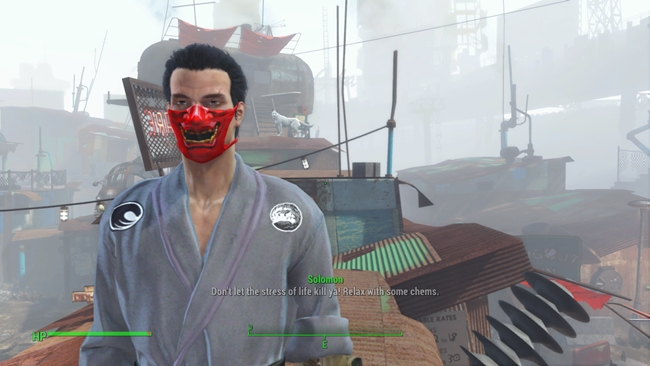 Photo of Fallout 4 – Samurai Oni Mask