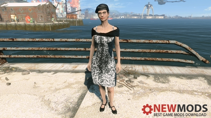 Photo of Fallout 4 – Silver Sequin Dress