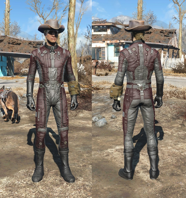 Photo of Fallout 4 – Bos Uniform Recolor