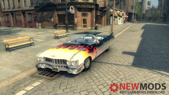 Photo of Mafia 2 – 1956 Cadillac Fire Skin