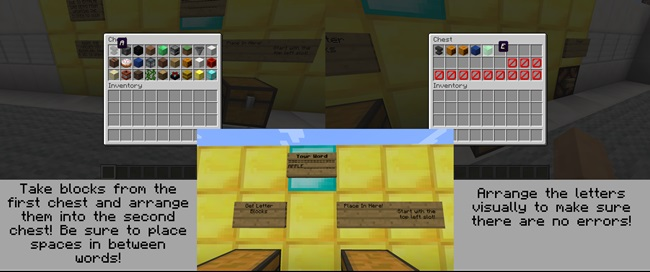 Photo of Minecraft – Hangman Game Map